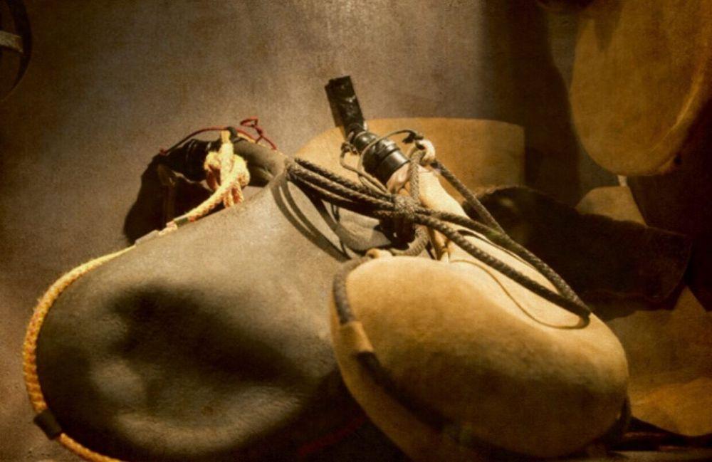 Odre era um cantil feito de pele de cabra ou couro, usado para transportar líquidos como água e vinho.